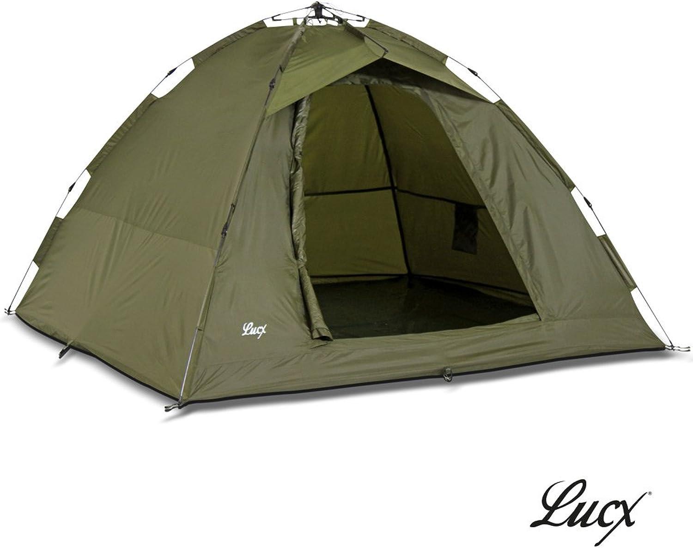 Lucx® Ruck Zuck Zelt Angelzelt     1-2 Man Bivvy   1-2 Mann Karpfenzelt Campingzelt Sekundenzelt Schnellaufbauzelt B0130CVT2M  Verrückter Preis 6ffddc