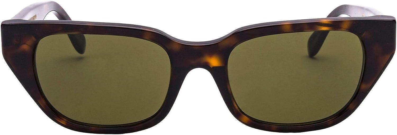 Super By Retrosuperfuture Women's IHU3627GREEN Brown Acetate Sunglasses
