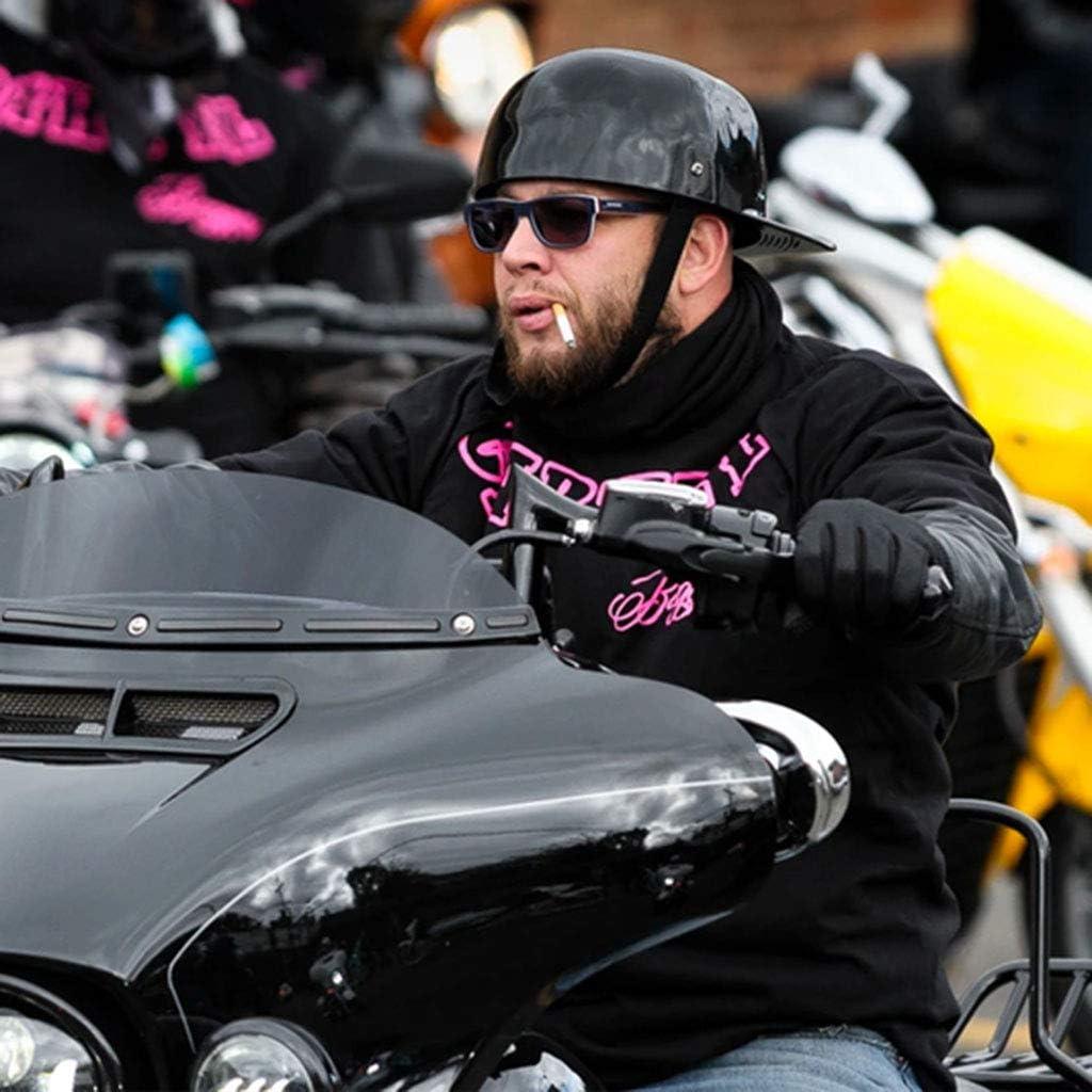 DCLINA Retro Motorcycle Baseball Cap Style Attention brand Half for a Helmet Men Phoenix Mall