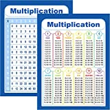 Youngever Multiplication Table Chart Laminated Educational Posters, Teaching Posters, Classroom Posters (24 x...