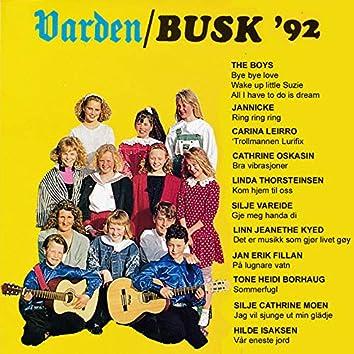 Varden/Busk - talentene 1992