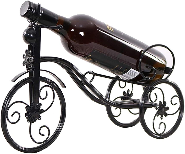 Wine Rack High Wine Cabinet Decoration Red Wine Cup Holder Upside Down Wine Rack Bottle Shelf (color   Brown)