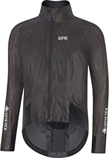 GORE WEAR Men's Race Cycling Jacket, GORE-TEX SHAKEDRY, S, Black