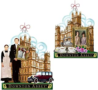 Kurt Adler Downton Abbey Glass Ornaments