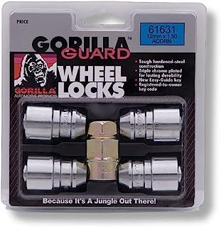 Gorilla Automotive 61631 Acorn Gorilla Guard Locks (12mm x 1.50 Thread Size) - Pack of 4