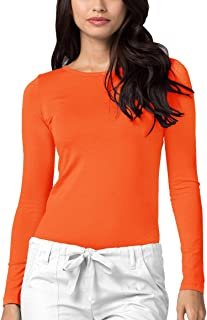 e367a8cbdaa Amazon.co.uk: ADAR UNIFORMS - Tops, T-Shirts & Blouses / Women: Clothing
