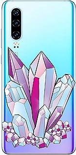 Oihxse Funda Dibujos Diamantes Brillantes Compatible Nokia 6 2018/Nokia 6.1 Transparente Silicona TPU Bumper Case Ultra De...