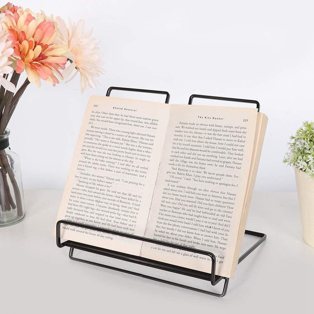 Book Stand Multifunctional Exquisite Workmanship for Office Home