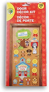 Greenbrier International ''Stay Pawsitive'' Puppy Themed Classroom Door Decor Kit - 20 Piece