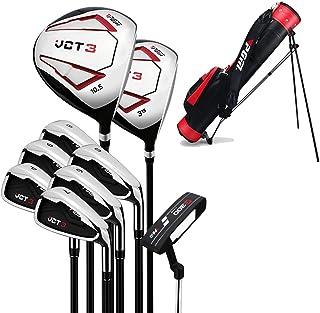 9 Delige Complete Heren Golfclub Set, Complete Beginners Set, Graphite Shaft, Heren, Rechterhand