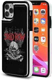 Iphone 11/11 Pro/11 Pro Max用 アイフォンケース Skid Row 携帯ケース Puレザー カード入れ お札収納 脱着簡単 耐汚れ 耐衝撃 柔軟 軽量 個性 創意デザイン 3dプリント 男女通用 スマホケース カバー スタンド機能