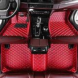 8X-SPEED TappetiniAutoPelleper Benz CLA Class 2014-2019 TappetinoAntiscivoloImpermeabileInodoroRiduceIlRumore Rosso