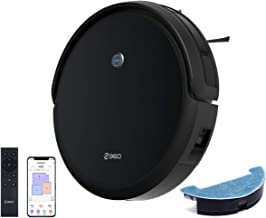 360 C50 Intelligent Robot Vacuum and Mop, 2600Pa Ultra Strong Suction, 120Min Runtime,Automatic Self-Charging,Works with A...