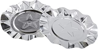 ROYAL Silver Star Aluminum Ashtrays, Package of 100