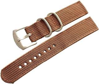 Hemobllo Nylon Wrist Watch Strap Band Watch Replacement Buckle Band Watch Repair Accessories for Women Men