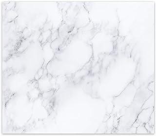 Klasik Mermer Görünümlü | Cam Ocak Arkası Koruyucu (49,5cm x 76cm)