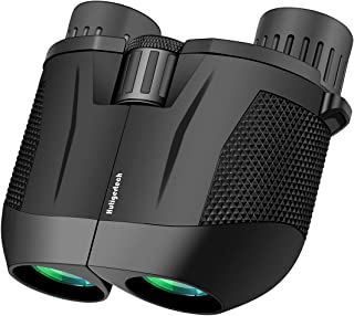 High Power Binoculars,10x25 HD Binoculars for Adults with Low Light Night Vision,BAK4 Prism,FMC Lens,Fogproof & Waterproof...