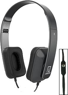 Langston ® Vodafone Smart Prime 6 Smartphone 5 Inch Negro Deep Bass Plegable HD Auriculares (iM-8) con Micrófono y Mando
