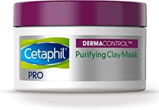 Best Cetaphil Pro Dermacontrol Purifying Clay Mask With bentonite Clay for Oily, Sensitive Skin, 3 Oz Jar Reviews