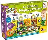 Lisciani Juegos EDUCATIFS - El Castillo mágico parlante - FR68401 Azul, Verde, Amarillo, Rojo