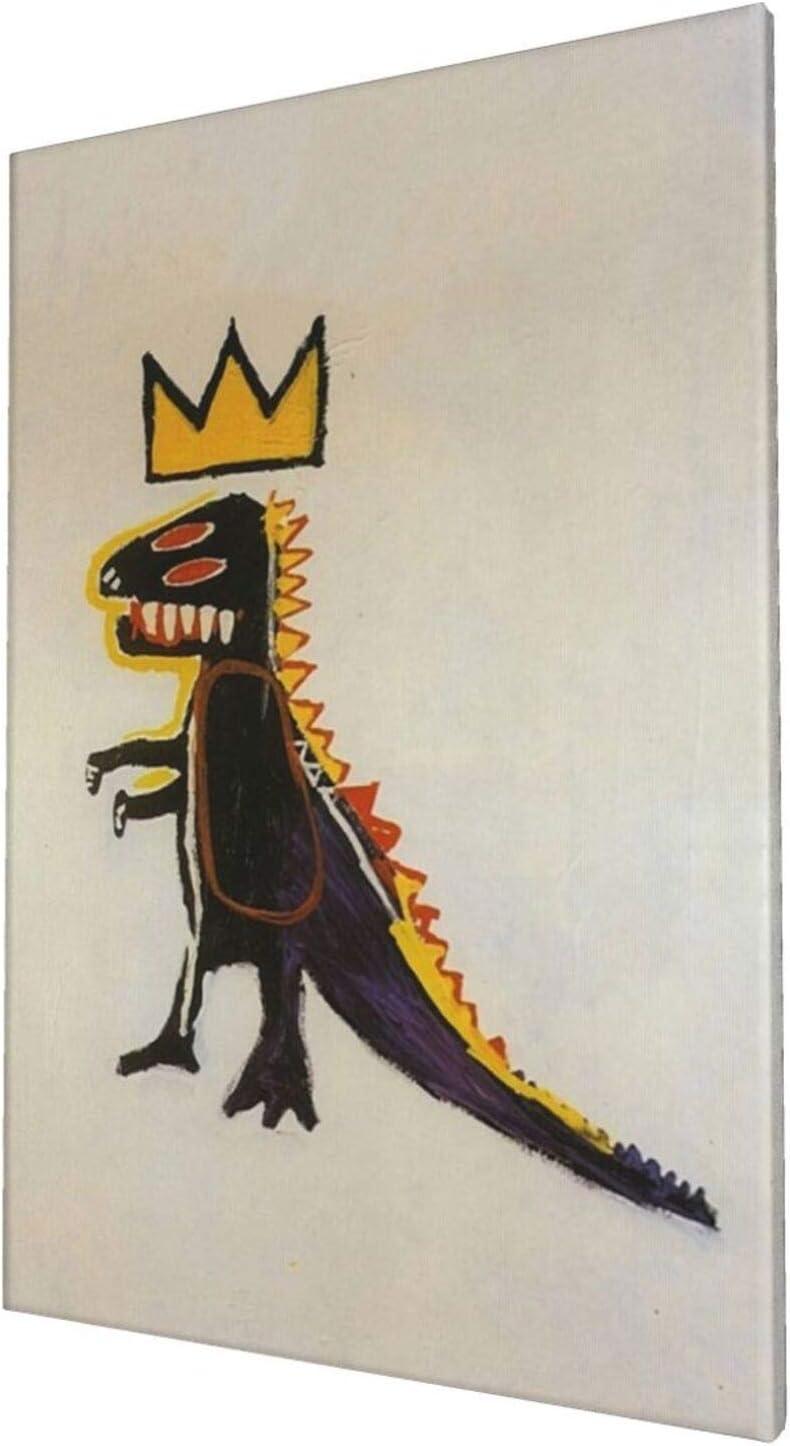 We OFFer at cheap prices Dinosaur Pez Dispenser New color 1984 Jean-Michel Framed Basquiat Decora