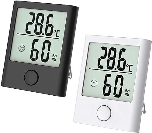 DELAISUS Mini thermomètre hygromètre