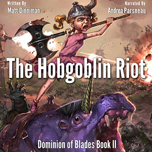 The Hobgoblin Riot audiobook cover art