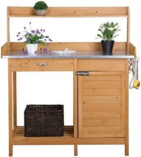 gardening potting bench