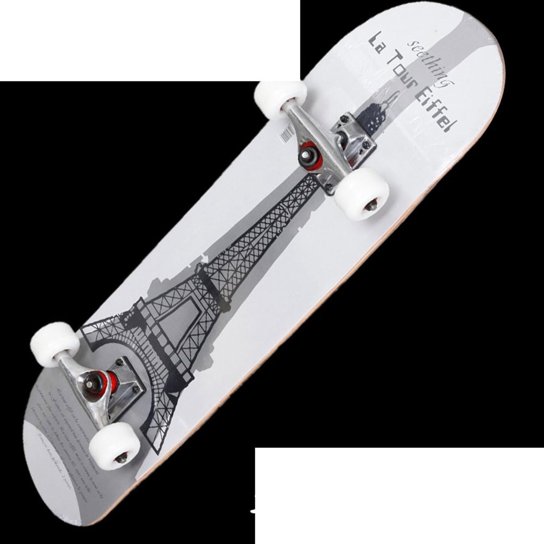 Profi-Skater Brush Street skateboarding Four-wheeled Skateboard Road doppelt gespannte Skateboards Adult Skate Roller B01MSXJO7Q  Abgabepreis