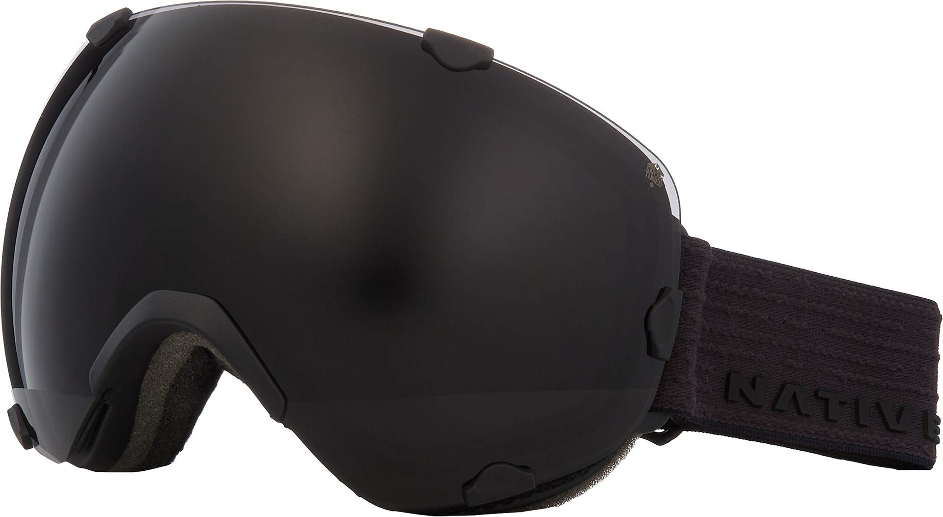 Native Eyewear Spindrift Ski Goggles Black