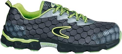 Cofra JE020-000.W45 Chaussures de sécurité Faibleball S1 P  SRC Taille 45, gris Vert