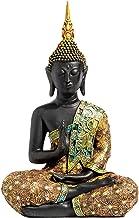 "Boeddhabeeld Beeldje Boeddhabeeld voor woondecoratie, 15""Thais Shakyamuni zittend standbeeld Hars, decoratie voor meditati..."