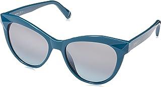 نظارة شمسية للنساء بلون ترستيال اخضر مزرق/ جي واي رمادي من ماكس اند كو طراز MAX&CO.352/S GO ZI9 53