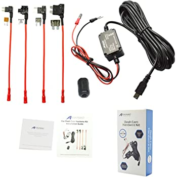 A118C Dash Camera Hardwire Kits GIT2 A119S Mobius Spytec Hardwire Mini Blade Fuse Add-A-Circuit Fuse Holder for A119