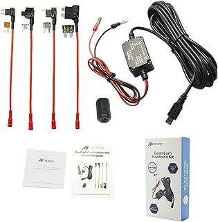 Dash Cam Hardwire Kit, Meknic 11.5FT Mini USB Hard Wire Kit Fuse for Car Dash Camera,12V-30V to 5V 2A Hardwire Dash Cam Ki...