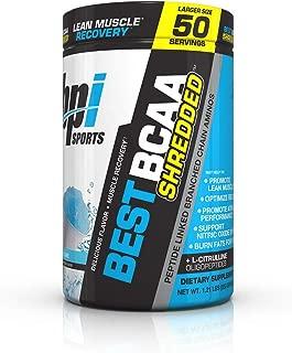 BPI Sports Best BCAA Shredded Powder for Men & Women, Snow Cone, 50 Servings