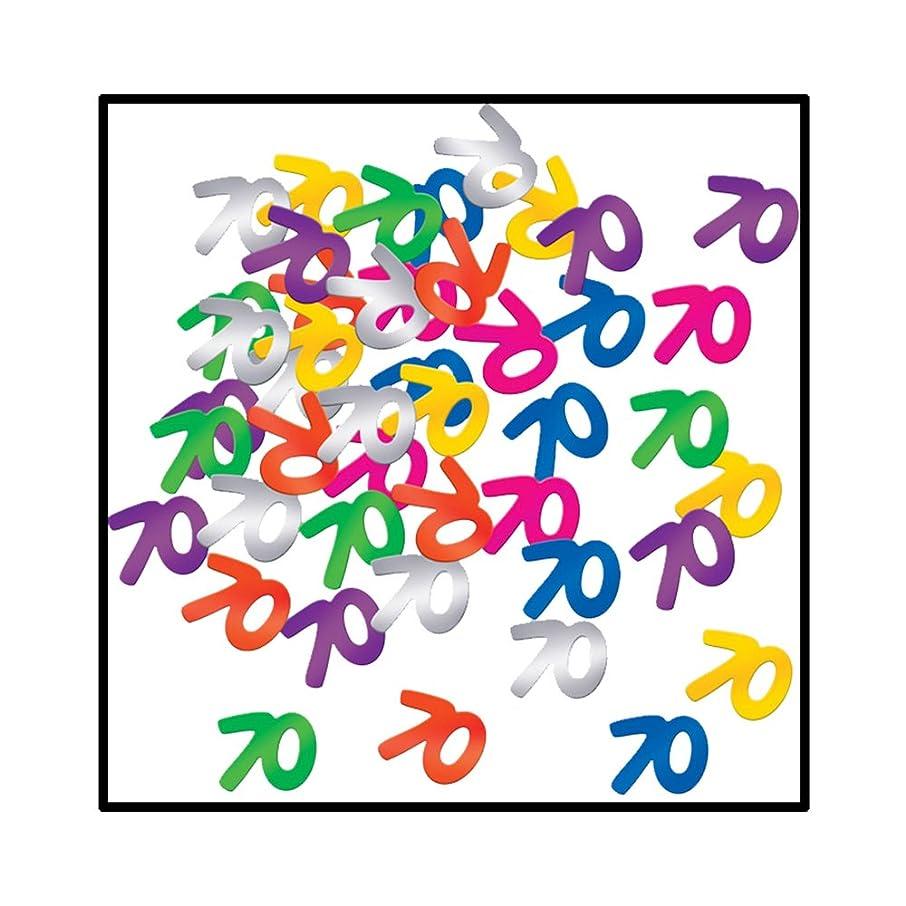 Fanci-Fetti 70 Silhouettes (multi-color) Party Accessory  (1 count) (.5 Oz/Pkg)
