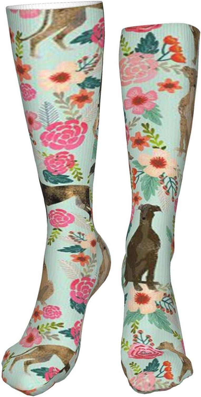 Puppy Women Premium High Socks, Stocking High Leg Warmer Sockings Crew Sock For Daily And Work