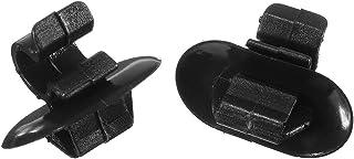 GOZAR 2 X Motorhaube Stay Clips Kunststoff Halterung Für Citroen Für Peugeot Vauxhall Vivaro