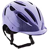 Ovation Women's Protege Riding Helmet, Amethyst, Small/Medium