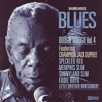 Barrelhouse, Blues & Boogie Woogie, Vol. 4