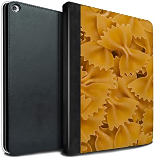 eSwish PU Leather Book/Cover Case for Apple iPad Pro 12.9 2017/2nd Gen Tablets/Farfalle Pasta Design/Food Collection