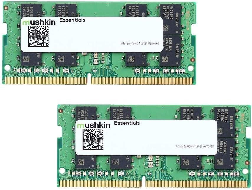 Mushkin Essentials – DDR4 Wholesale Laptop Mem SODIMM Fixed price for sale 32GB DRAM 2x16GB