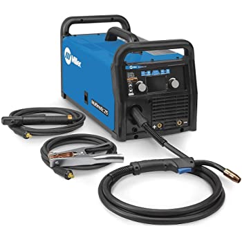 Crossfire Multi-Process 200 Amp MIG//MAG//MMA//DC TIG Welder with LCD Screen 115//220v