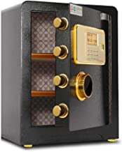Digital Safes Locking Safe, High Security Safes Safety Steel Box Home Office Money Cash Safe with 3-Layer Electronic Anti-...