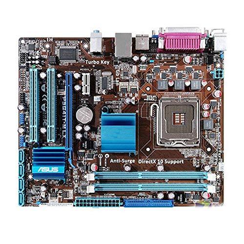 YANGLY Placa base para Asus P5G41T-M LX Desktop G41 Socket LGA 775 Q8200 Q8300 DDR3 8G U ATX UEFI BIOS Mainboard teléfono celular reemplazo parte