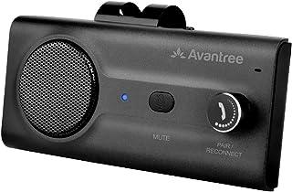 Avantree CK11 Car Bluetooth Speaker with Loud Speakerphone, Support Siri Google Assistant & Auto On Off, Volume Knob, Wire...