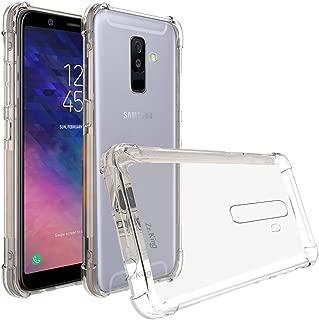 Galaxy A6 Plus 2018 Case, Zeking Ultra Slim Thin Anti-Scratch TPU Rubber Soft Skin Silicone Premium Protective Case Cover for Samsung Galaxy A6 Plus (2018) (Transparent)