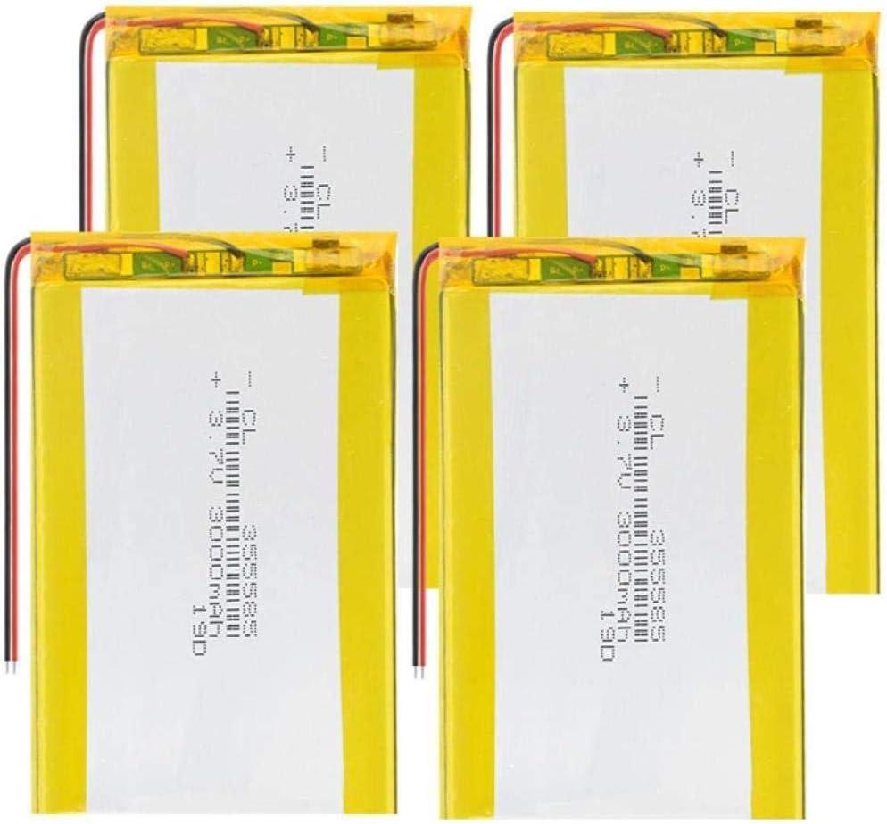 KZNV 355585 Li Polymer Batteries 3.7v New sales Lipo Selfie 3000mah St Direct sale of manufacturer for