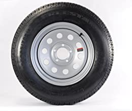 205/75D15 Trailer Tire with Rim (Silver Mod Rim)